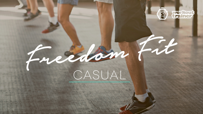 Workout Trainer by Skimble: Program Spotlight: Freedom FIT I - Casual