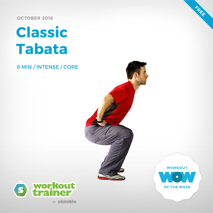 Workout Trainer by Skimble: Classic Tabata