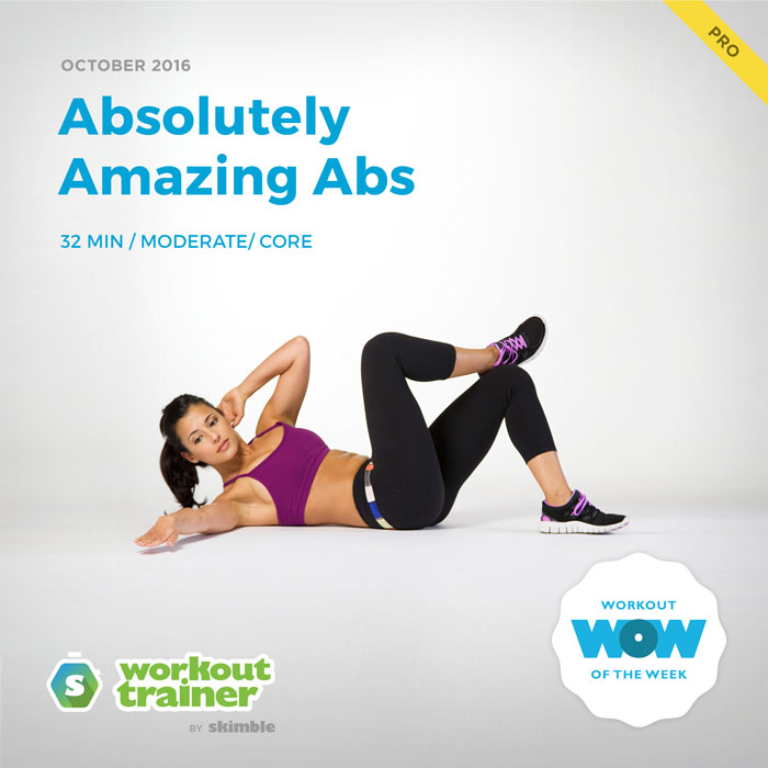 Workout Trainer by Skimble: Pro Workout of the Week: Absolutely Amazing Abs