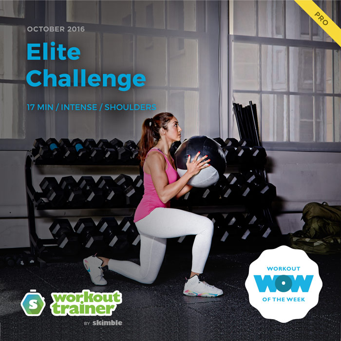 Workout Trainer by Skimble: Pro Workout of the Week: Elite Challenge