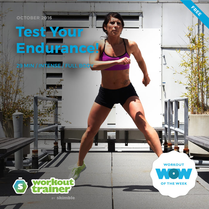 Workout Trainer by Skimble: Free Workout of the Week: Test Your Endurance!