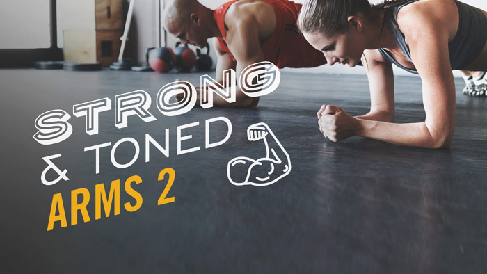 Workout Trainer by Skimble: Program Spotlight: Strong & Toned Arms 2