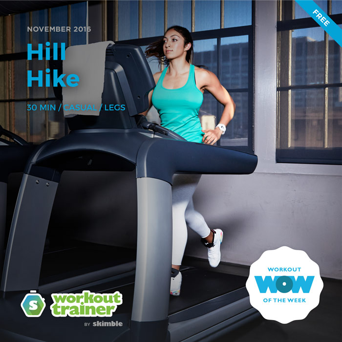 Workout Trainer by Skimble: Free Workout of the Week: Hill Hike