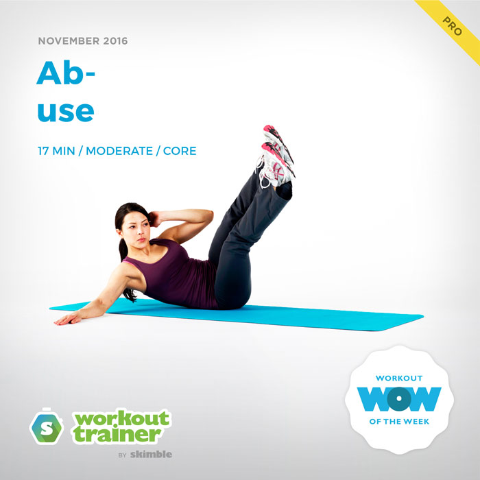 Workout Trainer by Skimble: Pro Workout of the Week: Ab-use