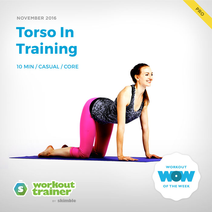 Workout Trainer by Skimble: Pro Workout of the Week: Torso in Training