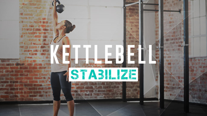 Workout Trainer by Skimble: Program Spotlight: Kettlebell: Stabilize