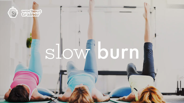 Workout Trainer by Skimble: Program Spotlight: Slow Burn