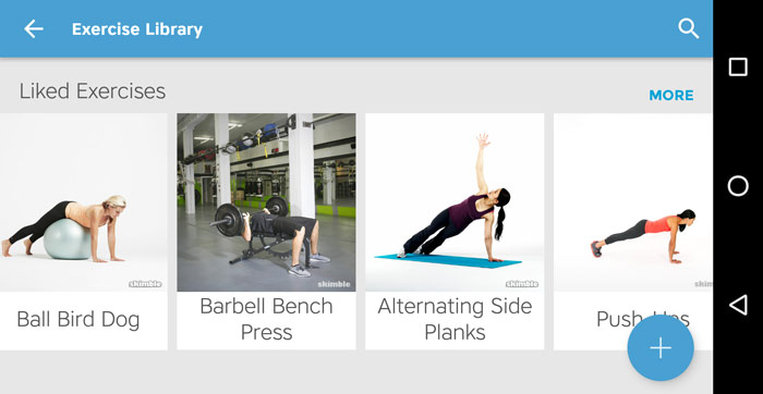 Workout Trainer by Skimble: Learn New Exercises with Exercise 101