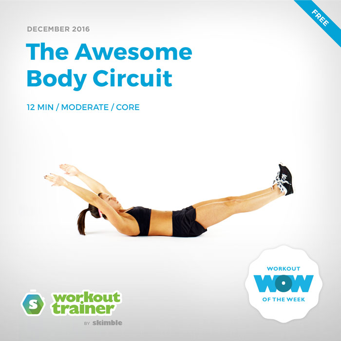 Workout Trainer by Skimble: Free Workout of the Week: The Awesome Body Circuit