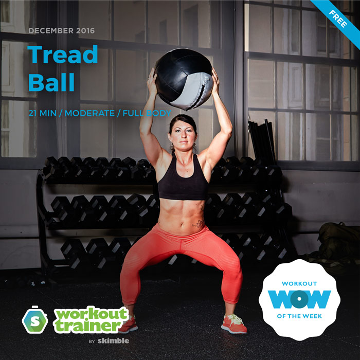 Workout Trainer by Skimble: Free Workout of the Week: Tread Ball