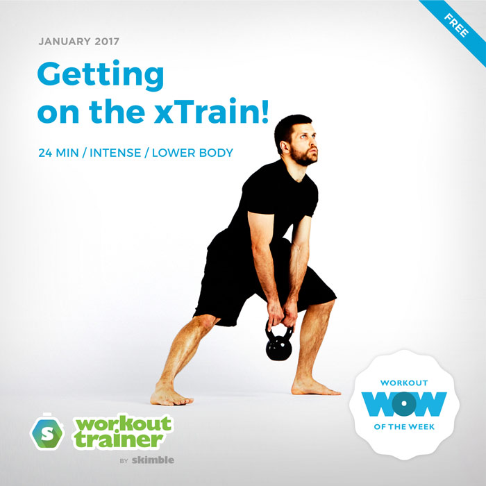 Workout Trainer by Skimble: Free Workout of the Week: Getting on the xTrain!