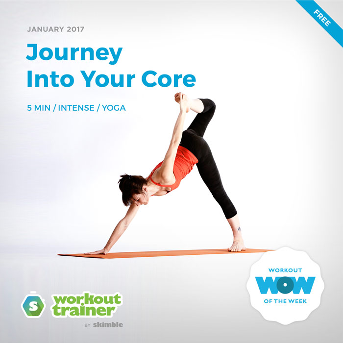 Workout Trainer by Skimble: Free Workout of the Week: Journey Into Your Core