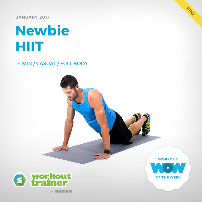 Workout Trainer by Skimble: Pro Workout of the Week: Newbie HIIT