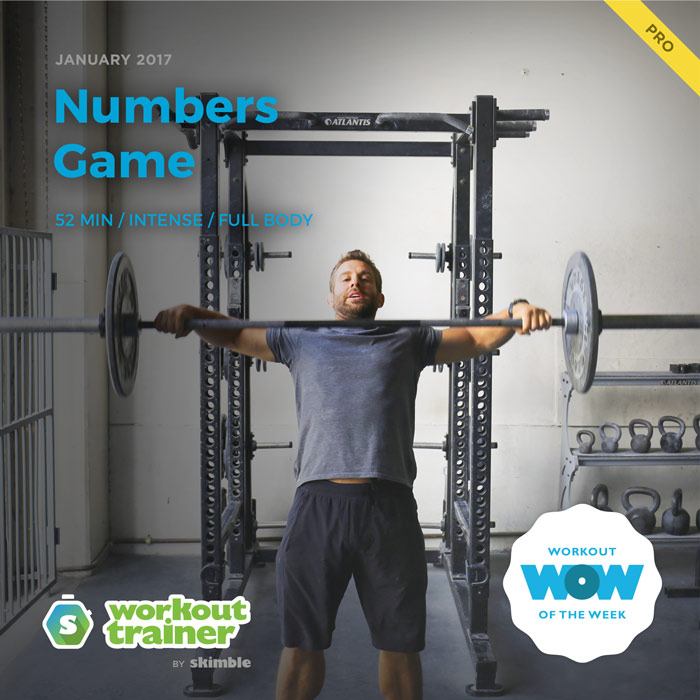 Workout Trainer by Skimble: Pro Workout of the Week: Numbers Game