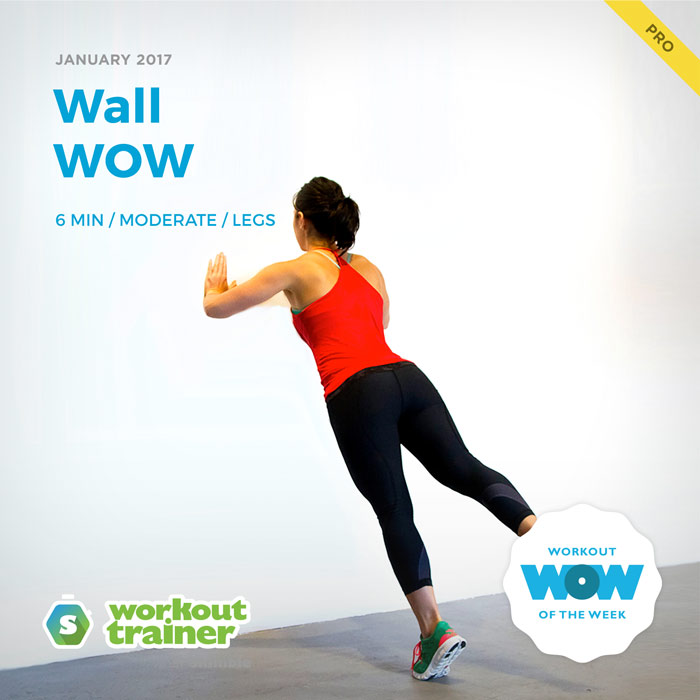 Workout Trainer by Skimble: Pro Workout of the Week: Wall WOW