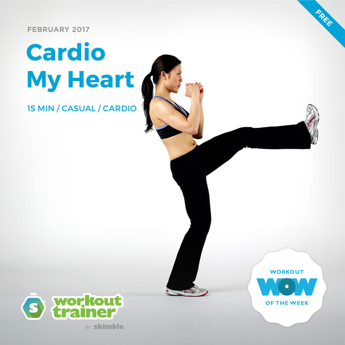 Workout Trainer by Skimble: Free Workout of the Week: Cardio My Heart