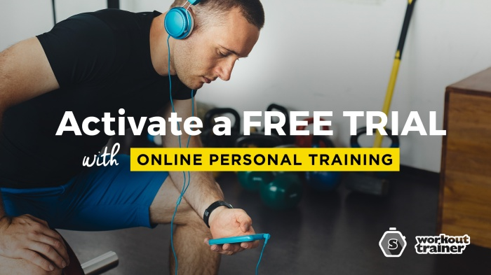 Workout Trainer by Skimble: Activate a Free Trial with Online Personal Training