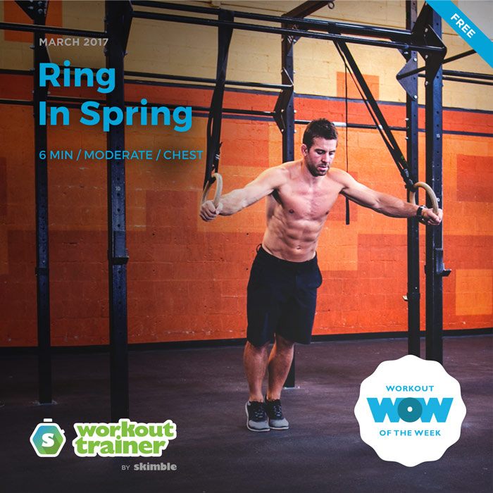 Workout Trainer by Skimble: Free Workout of the Week: Ring In Spring