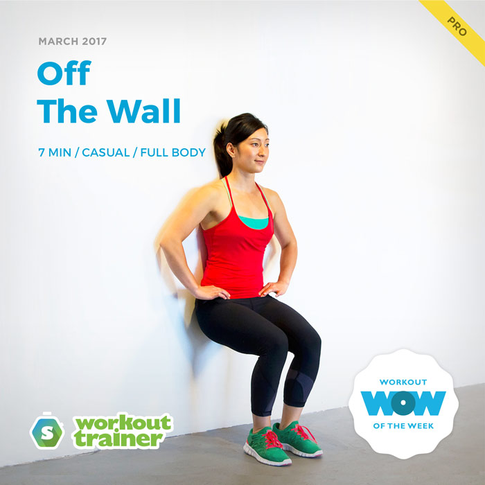 Workout Trainer by Skimble: Pro Workout of the Week: Off The Wall