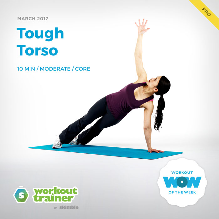 Workout Trainer by Skimble: Pro Workout of the Week: Tough Torso