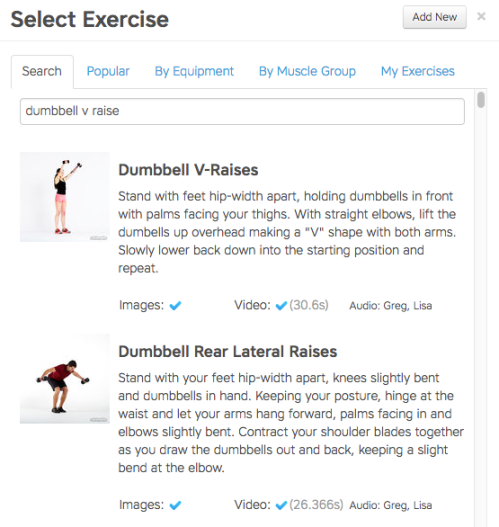 Workout Trainer: How to Create Workouts on the Web
