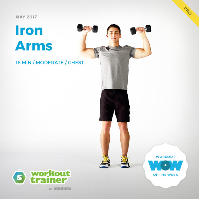 Workout Trainer by Skimble: Pro Workout of the Week: Iron Arms
