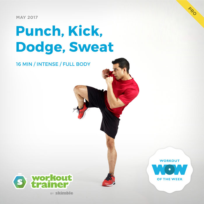 Workout Trainer by Skimble: Pro Workout of the Week: Punch, Kick, Dodge, Sweat