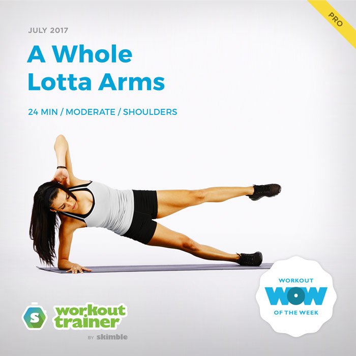 Workout Trainer by Skimble: Pro Workout of the Week: A Whole Lotta Arms