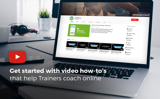 Workout Trainer by Skimble: Video Tutorials That Help You Get Started with Online Personal Training