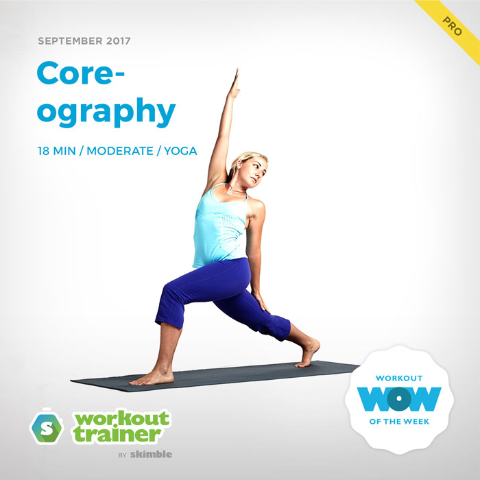 Workout Trainer by Skimble: Pro Workout of the Week: Core-ography