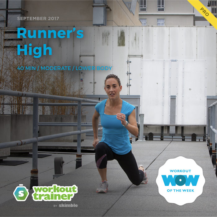 Workout Trainer by Skimble: Pro Workout of the Week: Runner's High