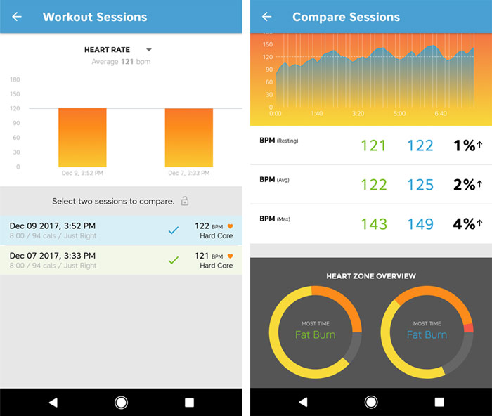 Workout Trainer by Skimble: Heart Rate Feedback: Optimize Training