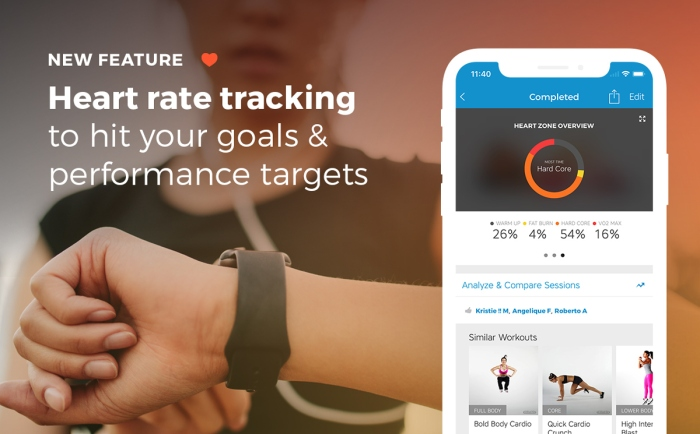 Workout Trainer by Skimble: Heart Rate Feedback