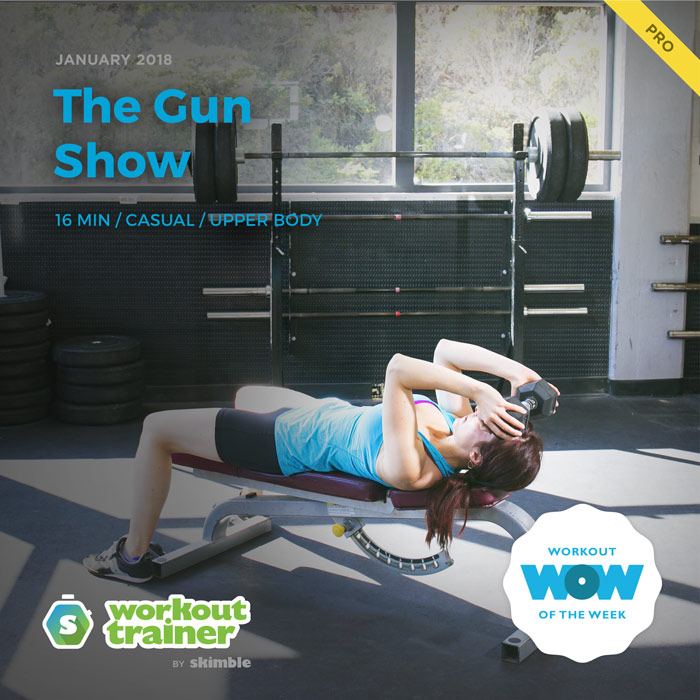Workout Trainer by Skimble: Pro Workout of the Week: The Gun Show
