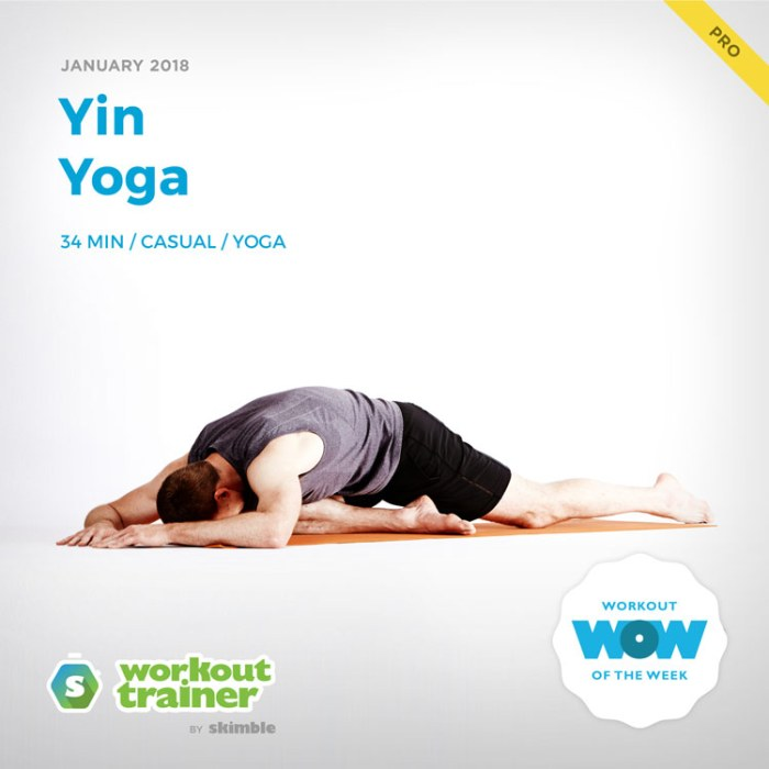 Workout Trainer by Skimble: Pro Workout of the Week: Yin Yoga