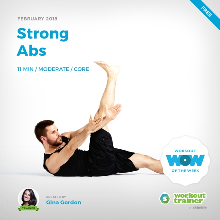 Workout Trainer by Skimble: Free Workout of the Week: Strong Abs by Gina Gordon
