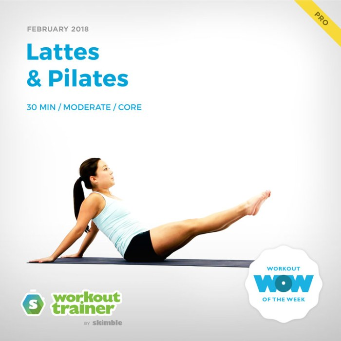Workout Trainer by Skimble: Pro Workout of the Week: Lattes & Pilates