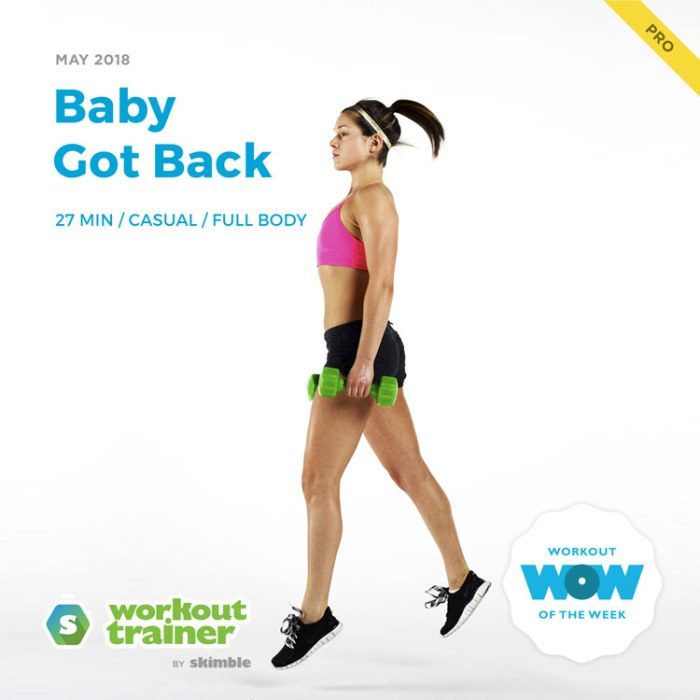 Workout Trainer by Skimble: Pro Workout of the Week: Baby Got Back