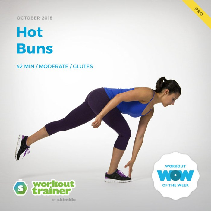 Workout Trainer by Skimble: Pro Workout of the Week: Hot Buns
