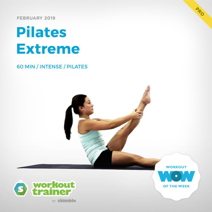 Workout Trainer by Skimble: Pro Workout of the Week: Pilates Extreme