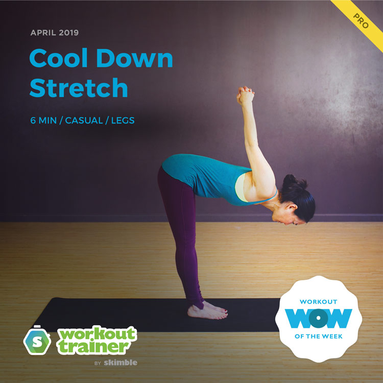 Workout Trainer by Skimble: Pro Workout of the Week: Cool Down Stretch