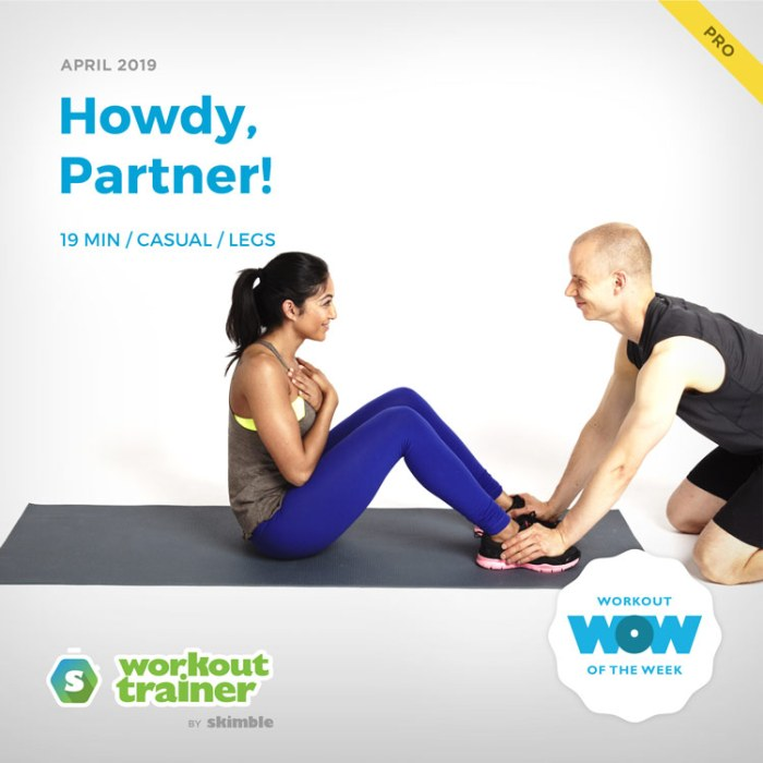 Workout Trainer by Skimble: Pro Workout of the Week: Howdy, Partner!