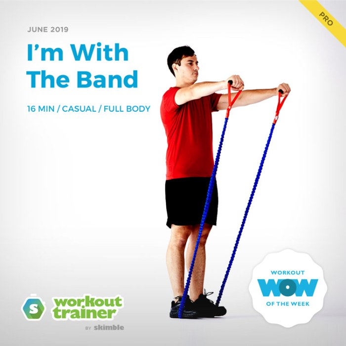 Workout Trainer by Skimble: Pro Workout of the Week: I'm With The Band