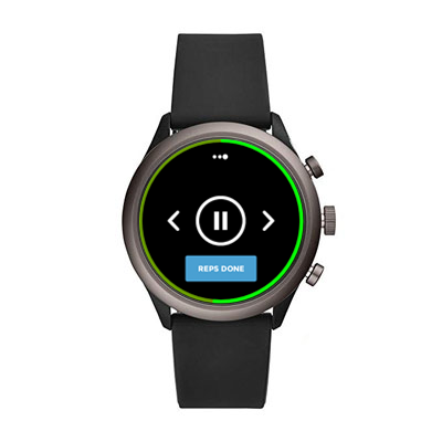 Workout Trainer by Skimble: Fossil Gen 4 Sport smartwatch