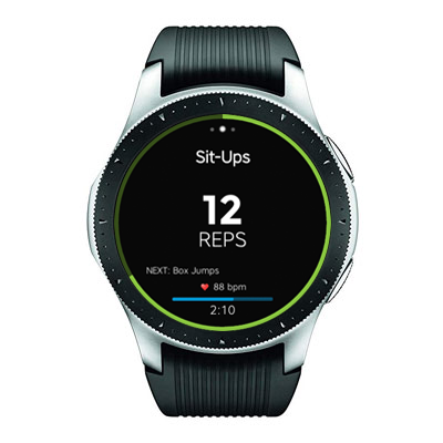 Workout Trainer by Skimble: Samsung Galaxy Smartwatch