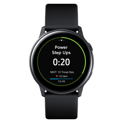 Workout Trainer by Skimble: Samsung Galaxy Watch Active