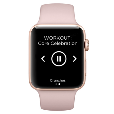 Workout Trainer by Skimble: Apple Watch Series 4