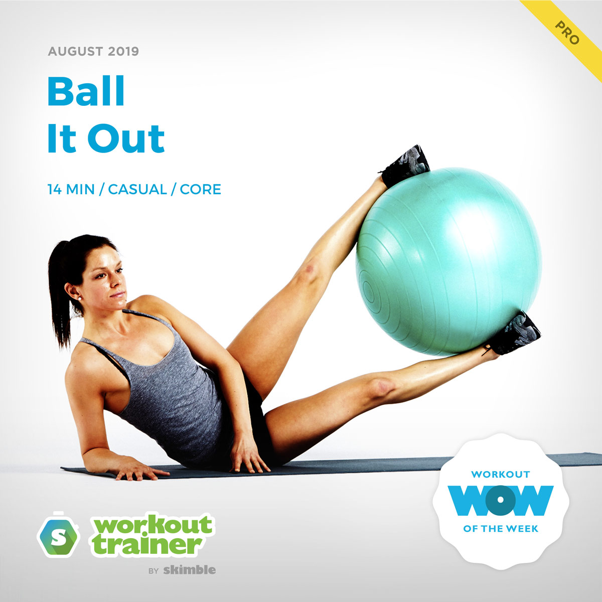Workout Trainer by Skimble: Pro Workout of the Week: Ball It Out