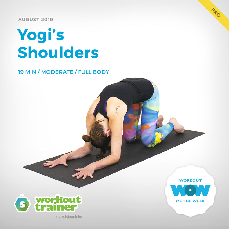 Workout Trainer by Skimble: Pro Workout of the Week: Yogi's Shoulders