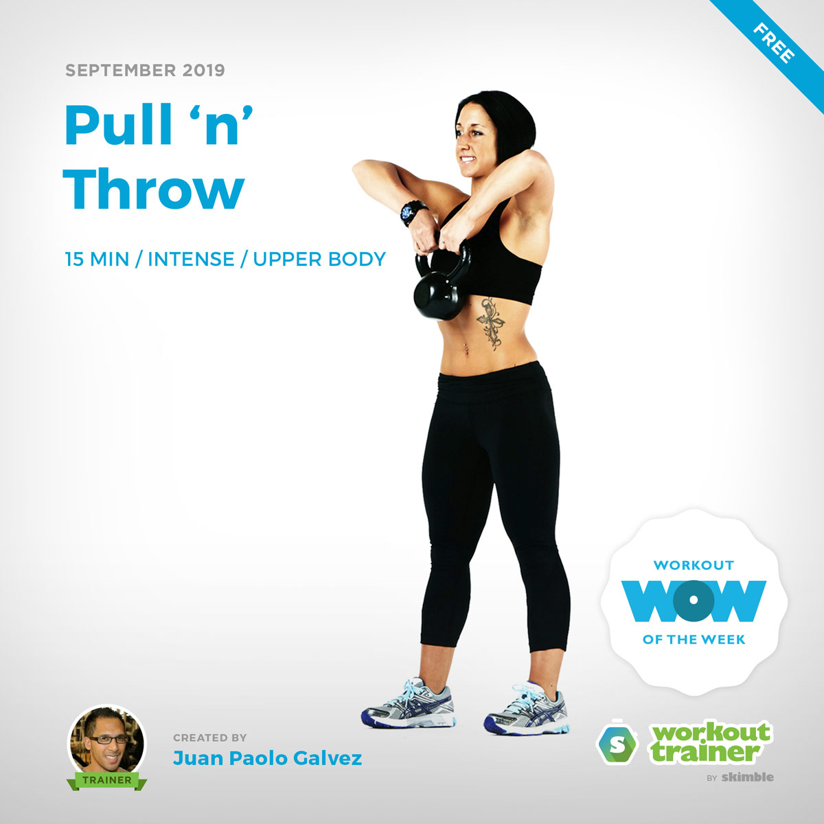 Workout Trainer by Skimble: Free Workout of the Week: Pull 'n' Throw by Juan Paolo Galvez